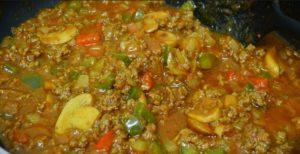 resepi cara membuat spaghetti sos bolognese prego step by step 04