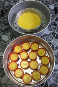 resepi kuih talam kastard jagung step by step bergambar 02