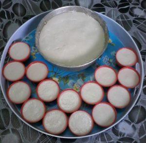 resepi kuih talam kastard jagung step by step bergambar 06