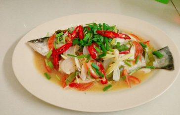 resepi ikan siakap limau ala thai menyelerakan step by step 00