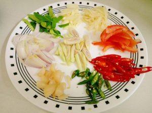 resepi ikan siakap limau ala thai menyelerakan step by step 03