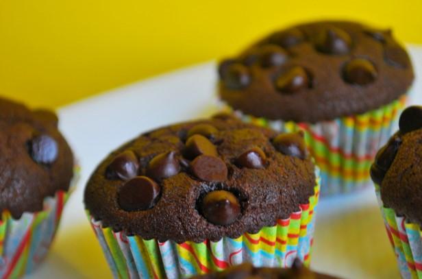 Resepi Muffin Coklat Chip Super Mudah Sukatan Cawan Tanpa