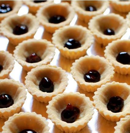 resepi cheese tart blueberry nutella buncit 02