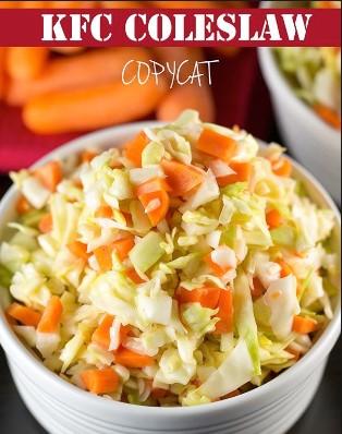 resepi coleslaw salad homemade kfc tanpa susu 03