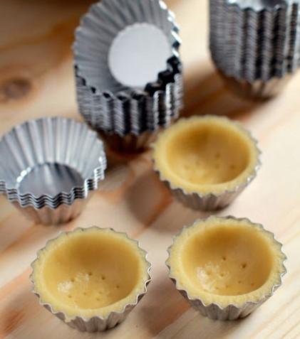 resepi cream cheese shell tart buncit 04