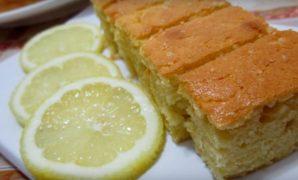resepi kek butter lemon mudah sedap