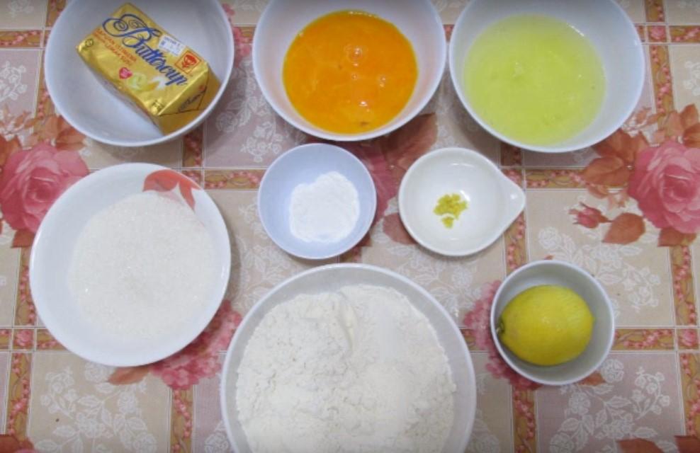 resepi kek butter lemon sedap mudah bahan bahan