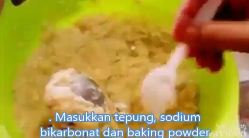 resepi kek pisang kukus sukatan cawan guna blender 04