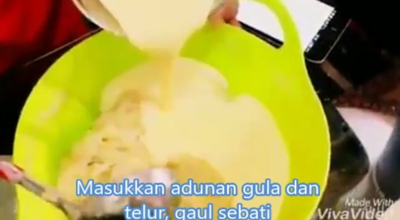 resepi kek pisang kukus sukatan cawan guna blender 06