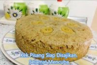 resepi kek pisang kukus sukatan cawan guna blender 10