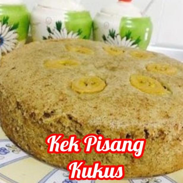 resepi kek pisang kukus sukatan cawan