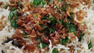 resepi nasi minyak ala kampung paling simple 00