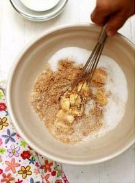 resepi biskut oat chocolate chip cookies subway diet 01