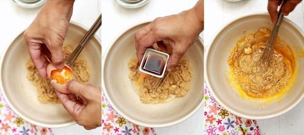 resepi biskut oat chocolate chip cookies subway diet 02