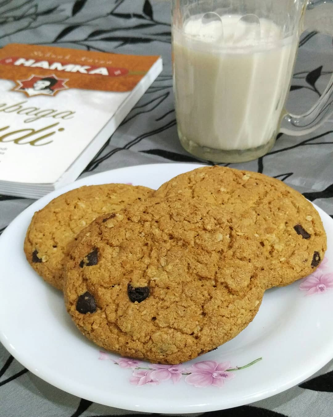 resepi biskut oat chocolate chip cookies subway diet sukatan cawan