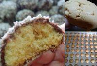 resepi biskut snow almond rangup sukatan cawan