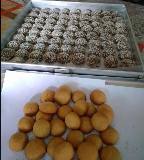 resepi biskut snow almond sukatan cawan 03