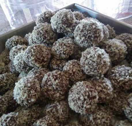 resepi biskut snow almond sukatan cawan 04