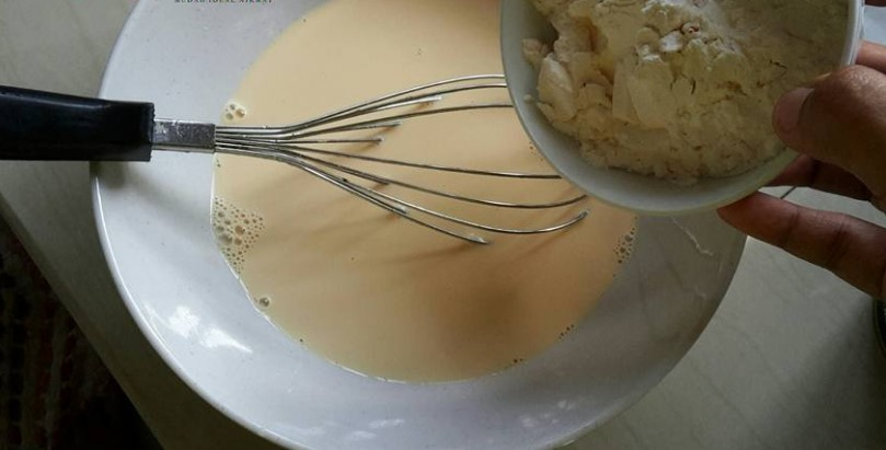 resepi puding jagung kastard sedap tanpa telur 02