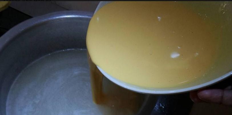 resepi puding jagung kastard sedap tanpa telur 04