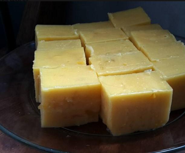 resepi puding jagung kastard sedap tanpa telur 08