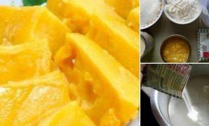 resepi puding jagung kastard sedap tanpa telur