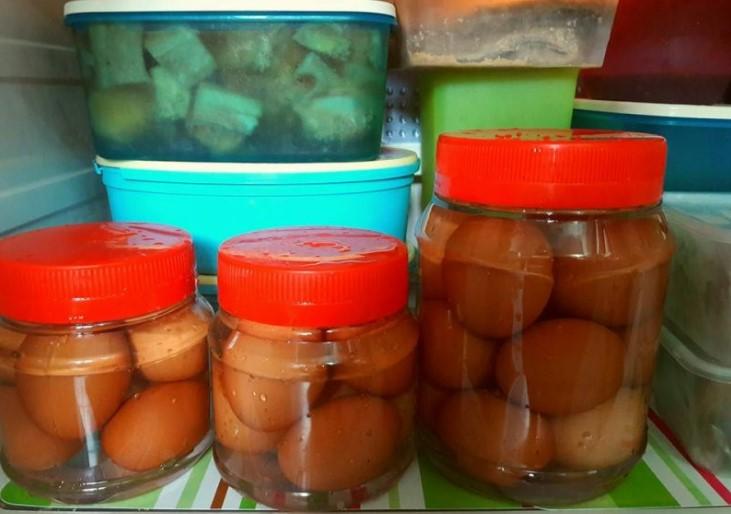 resepi telur masin ayam homemade paling jimat 02