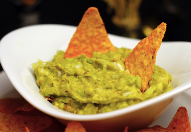 Homemade guacamole vegetarian recipes for lunch